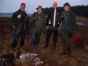 Ulf, Herbert, Stefan och Lennart